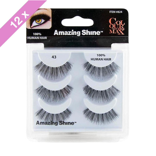 Amazing Shine eyelashes Trio # 43 (12 Pack)