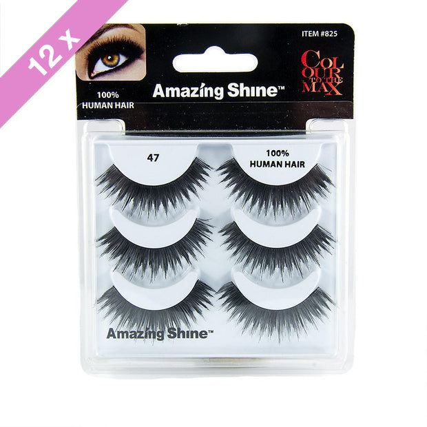 False Eyelashes Trio #47 (12 Pack)