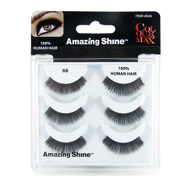 False Eyelashes Trio #66 (3 pairs)