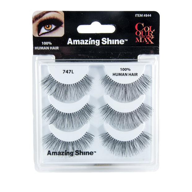False Eyelashes Trio #747L (3 pairs of lashes)