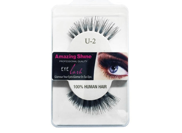 False Eyelashes # U-2 (1 pair)
