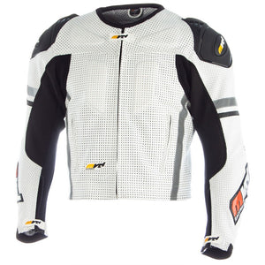 MVD Racewear  Supermoto Jacket White