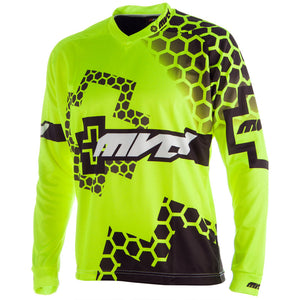 MVD Racewear RX-Honey+ Jersey Fluor Yellow