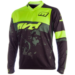 MVD Racewear Edge Jersey Black/Fluor Yellow