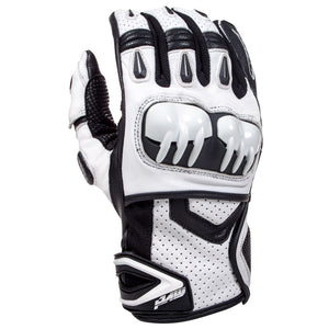 MVD Racewear SX-Pro 1 Supermoto Gloves White