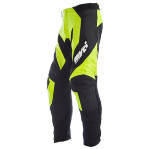 MVD Racewear Striker Supermoto Pants Black/Fluor Yellow
