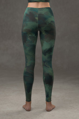 Painted Leggings: Deep Sea