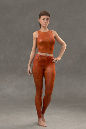 Terracotta Leggings