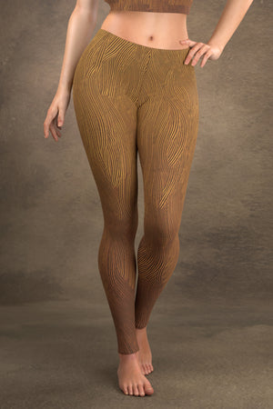 Brushed Bronze Leggings