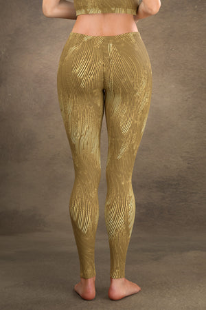 Brushed Gold Leggings