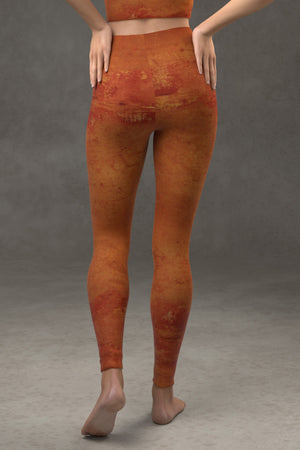 Terracotta Yoga Leggings