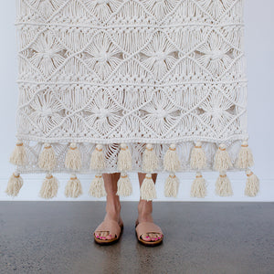 Gypsy Handmade Macrame Throw