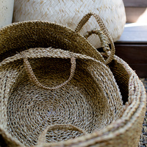 Seagrass Basket Set of 3