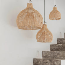 Medium Eva - Rattan Light