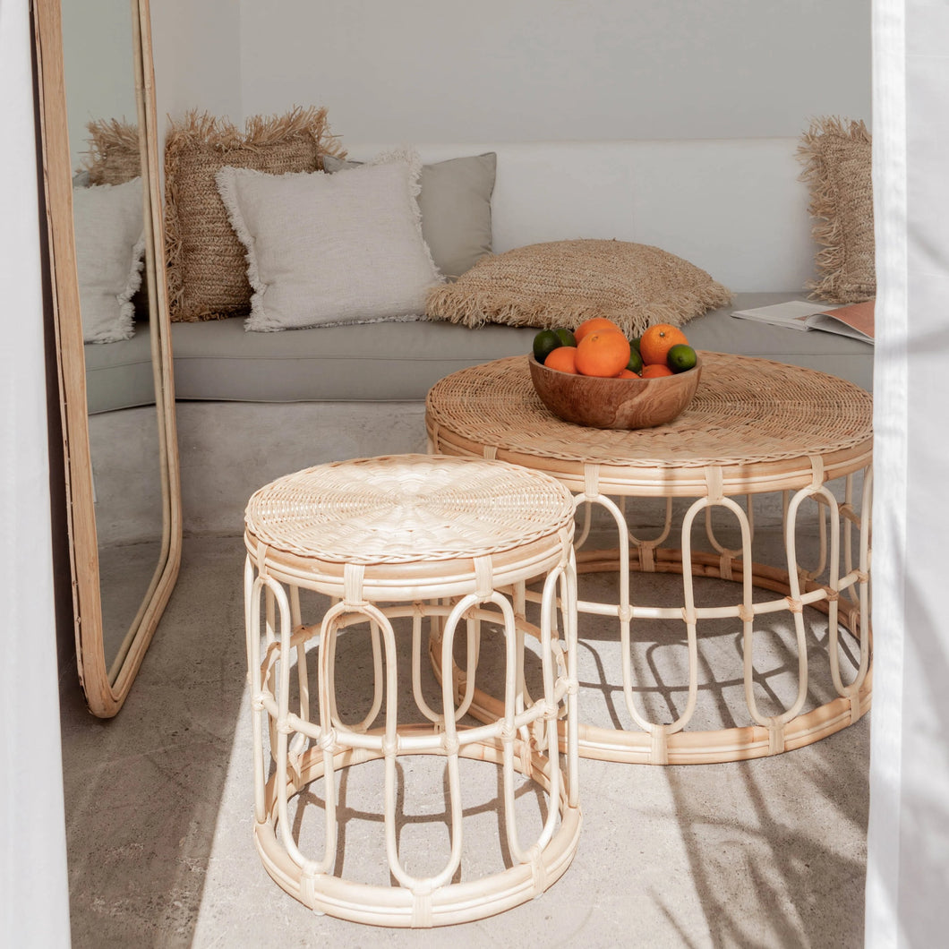Drifter - Rattan Side Table (PRE-ORDER)