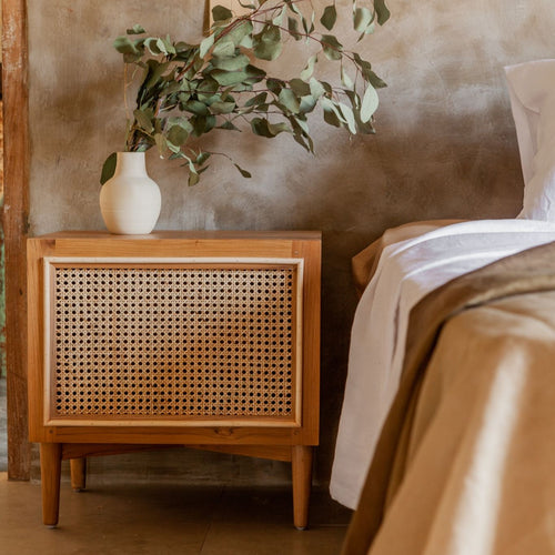 Lemari - Rattan Bedside Table (NEW)