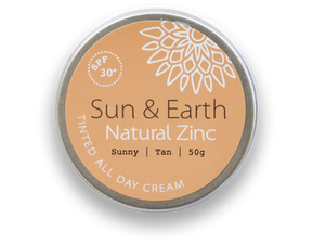 Sun & Earth - TINTED ALL DAY CREAM + SPF 30