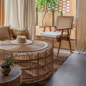 Meja - Rattan Coffee Table (NEW)