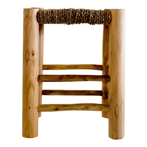 Tamri - Woven Low Stool (PRE-ORDER FEBRUARY)