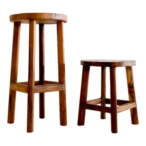 Badu - Teak Counter Stool