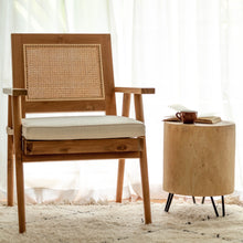 Lengan - Teak Rattan Chair (NEW)
