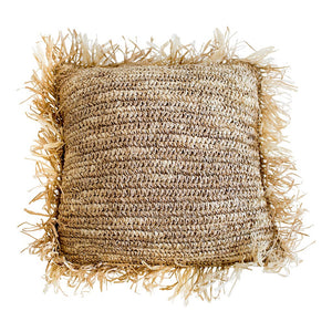 Palem - Square Raffia Cushion