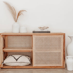 Bukit Small - Rattan Cabinet (NEW)