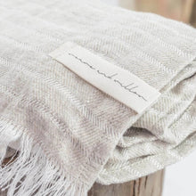 Dune Linen Beach Towel - Weave & Willow