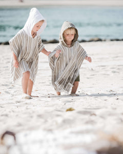 Little Willow Linen Towel - Sand - Weave & Willow