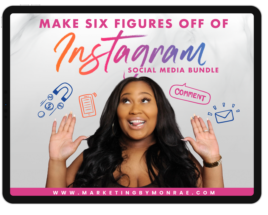Making 6-Figures Off of Instagram - Social Media Bundle