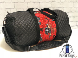 Black Widow Large Travel Bag