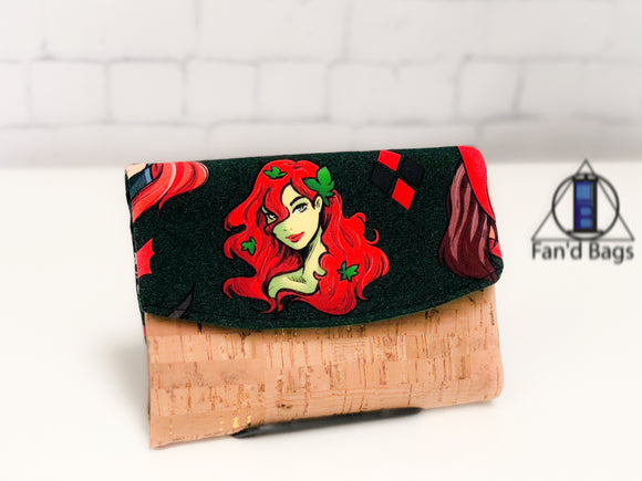 Ladies of the Comics in Green Wallet