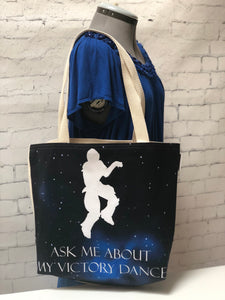 Victory Dance Tote Bag