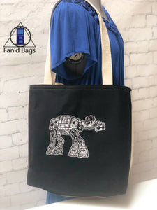 Beat Box AT-AT Tote Bag