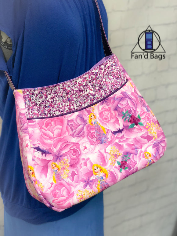 Fair-Haired Princess Handbag By Fan'd Bags