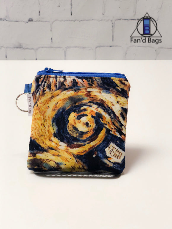 Exploding Tardis large Coin Purse