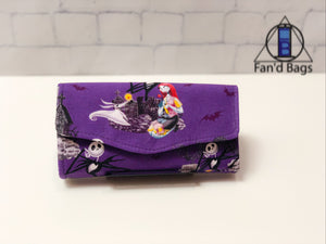Nightmare Before Christmas Halloween Wallet by Fan'd Bags