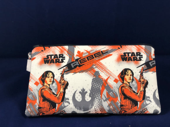 Rebel S.W. Zip Bag by Fan'd Bags