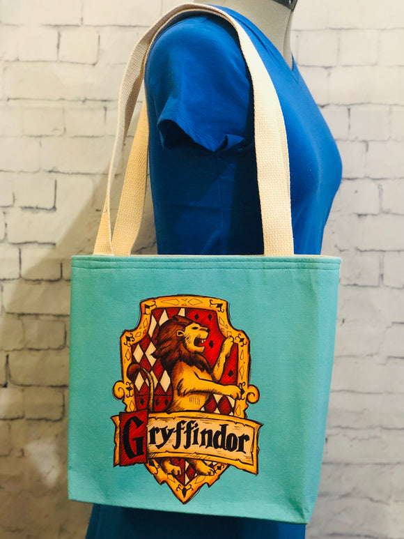 Gryffindor Blue Small Tote Bag