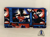 Superman Comic Zip Bag