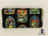Zelda Stained Glass Clutch Wallet