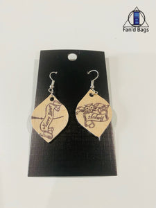 Harry and Hedwig Earrings