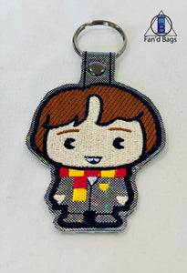 Neville Longbottom Embroidered Keychain