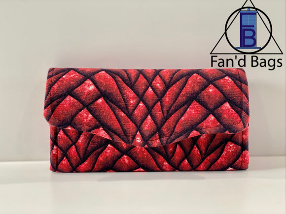 Dragon Scales Clutch Wallet