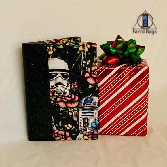 Galaxy Floral Wars Notebook Cover