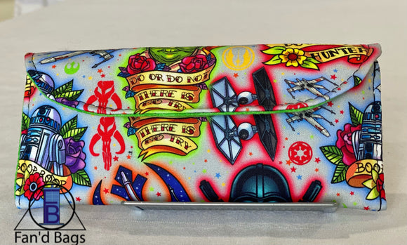 Tattoo Star Wars Eye Glass Case