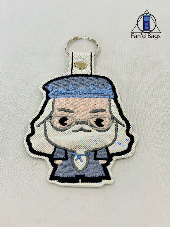 Albus Dumbledore Embroidered Keychain