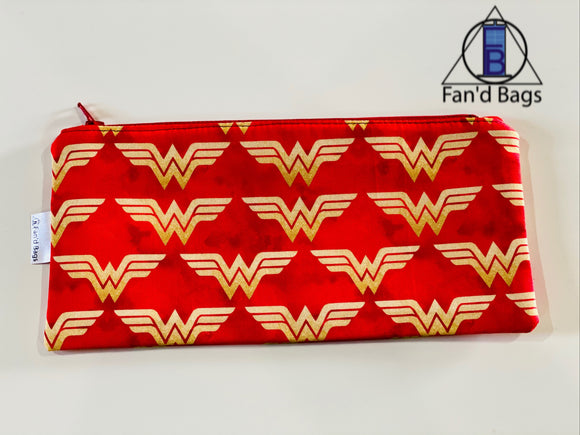 Wonder Woman Zip Bag