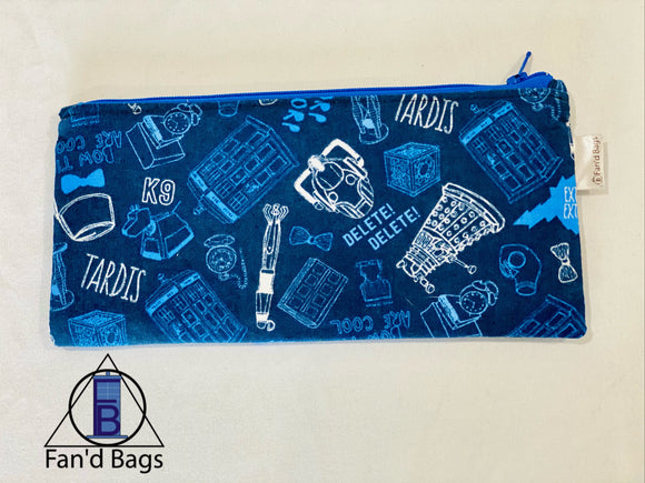 Doctor Who K9 Zip Bag