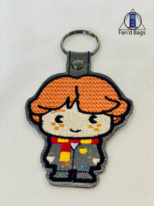 Ronald Weasley Embroidered Keychain